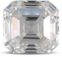 Asscher diamond G color