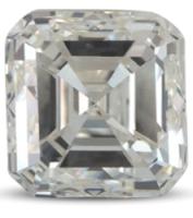 Asscher diamond colour I
