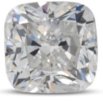 Cushion diamond color D
