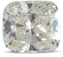Cushion diamond color I