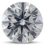 Round brilliant diamond color E