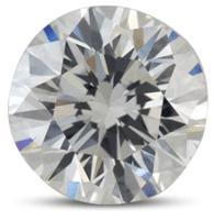 Round brilliant diamond color H