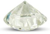 Diamond with P color grade