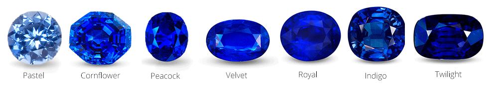 Sapphire colors