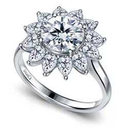 B2C Jewels Cinora engagement ring