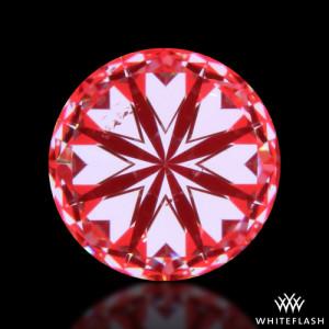 Whiteflash hearts and arrows diamond