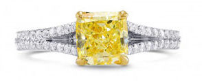 white-gold-engagement-ring-with-yellow-gold-head