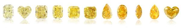 yellow diamonds color