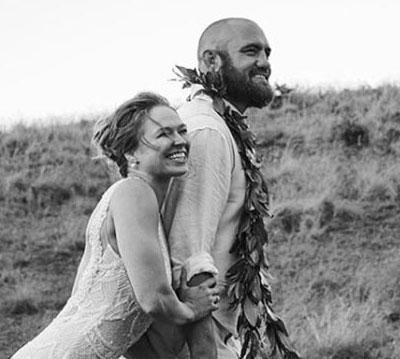 1 Ronda Rousey Instagram Wedding Photo