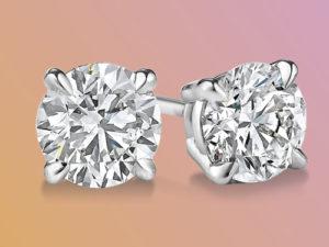 Diamond stud earrings guide