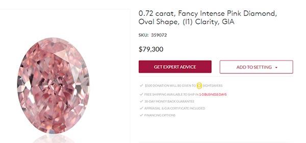 Blake Livelys Engagement Ring Pink Diamond Price