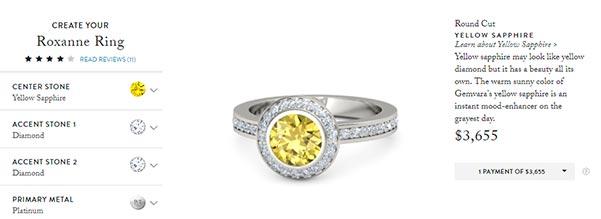 Carrie Underwoods Engagement Ring Gemvara Copy