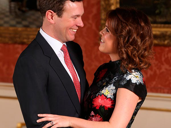 Princess Eugenies Engagement Ring Official Debut
