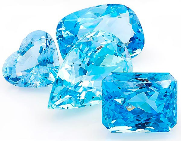 Jessica Biels Engagement Ring Aquamarines