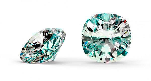 Jessica Biels Engagement Ring Cushion Cut Diamond