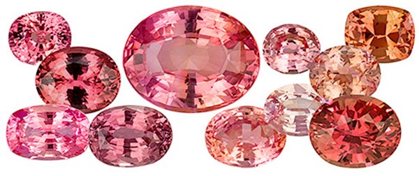 Princess Eugenies Engagement Ring Various Padparadschas