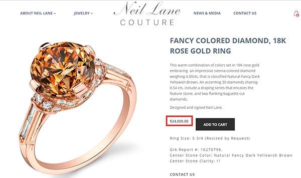 Kristen Bells Engagement Ring Neil Lane Engagement Ring Comparison