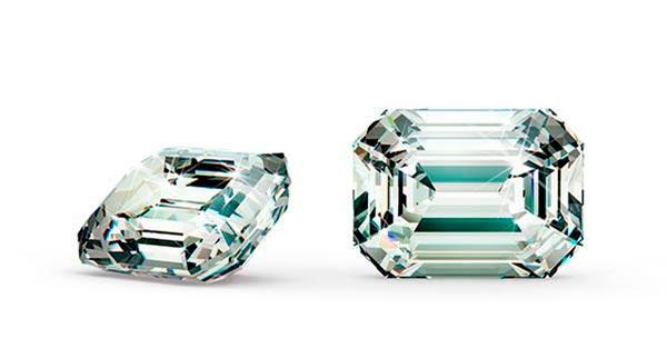 Kristen Bells Engagement Ring Emerald Cut Diamond