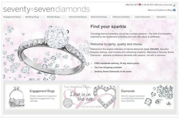diamonds old website