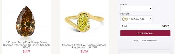 Scarlett Johanssons Engagement Ring Leibish Copy