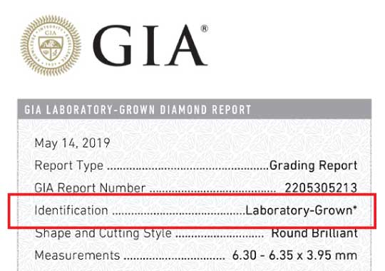 gia lab grown report