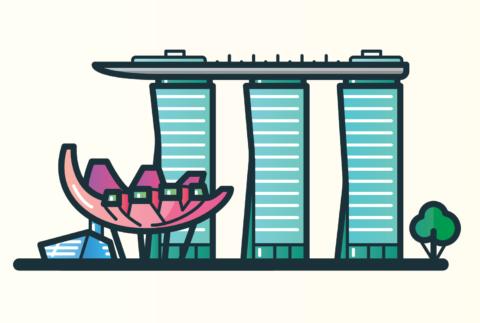 Singapore importing icon