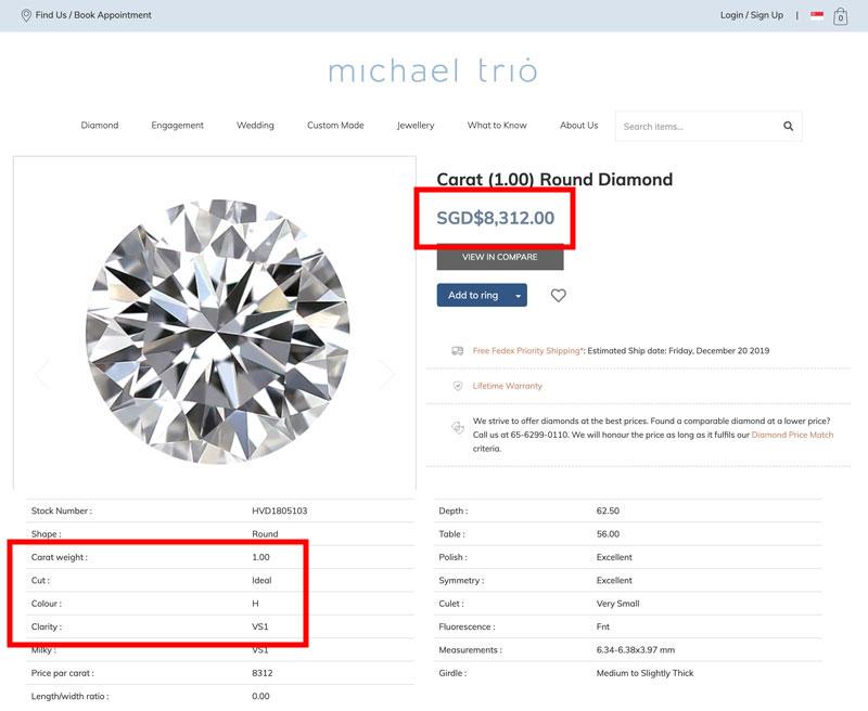 buying diamond locally singapore