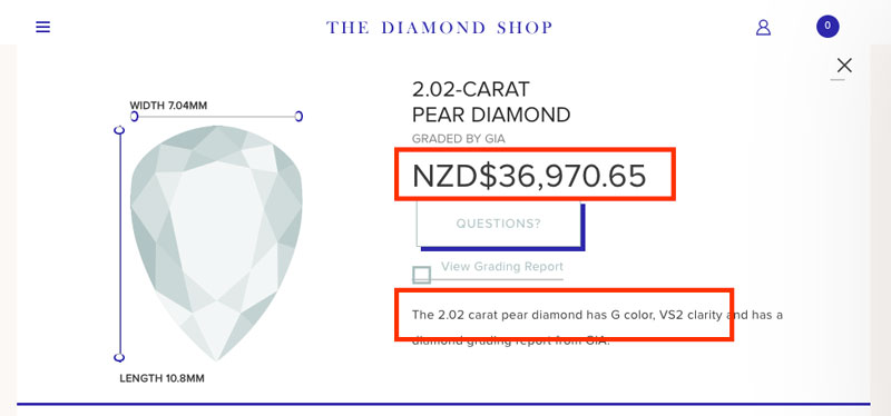 local pear diamond
