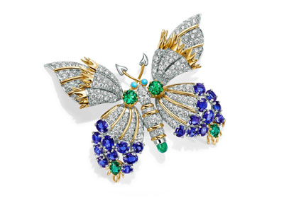 Tiffany butterfly broach by Jean Sclumberger
