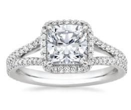 Fortuna Diamond Engagement Ring