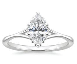 'Cava' Marquise Diamond Ring