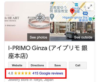 I Primo Google Reviews